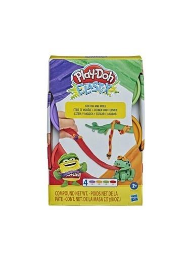 Play-Doh Play Doh Elastik 4lü Oyun Hamuru E6967-E9863 Renkli